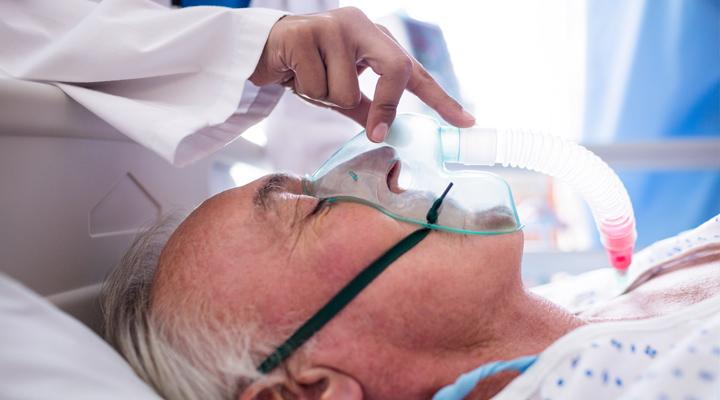 Instalación de equipamiento de oxigenoterapia
